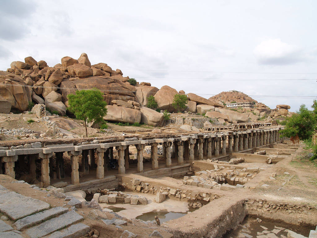 Phoebettmh travel india hampi village the city of ruins Indian building photos
