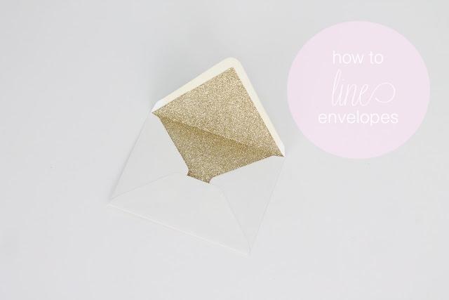 How to Line EnvelopesJulie Blanner entertaining  home design