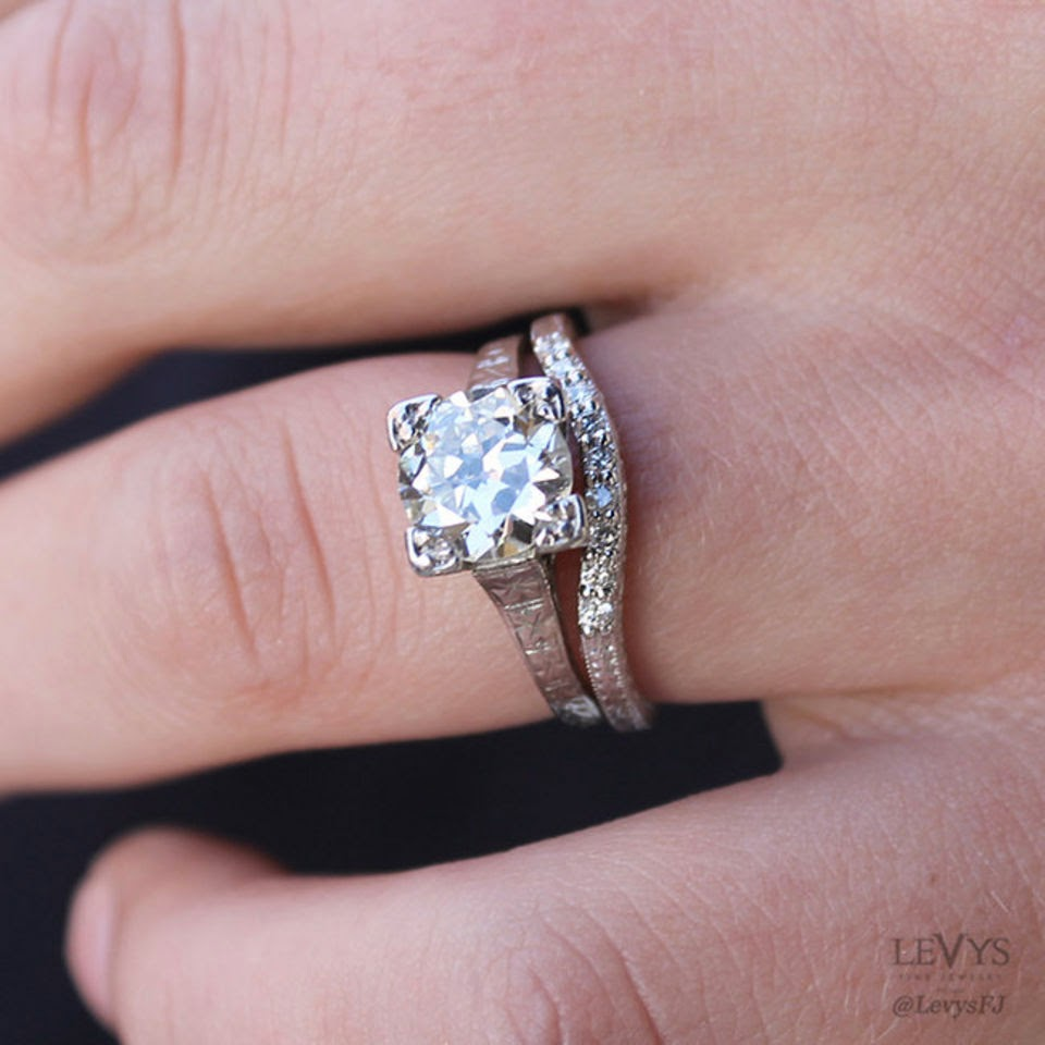 5 simple tips to pair vintage-style engagement rings with modern ...
