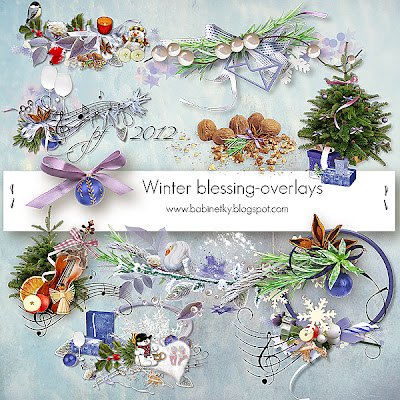 Winter Blessing Overlays by babinetky- Megakit part