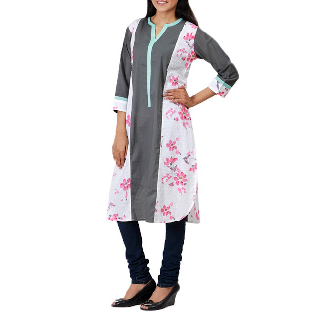Latest Kurti Designs for Girls 2015 - glamourtalkz.blogspot.com