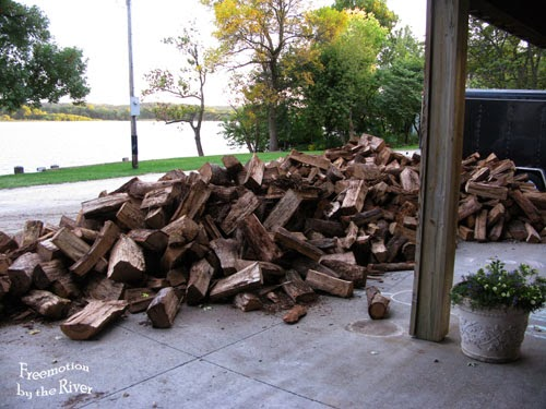 Wood for wood stove