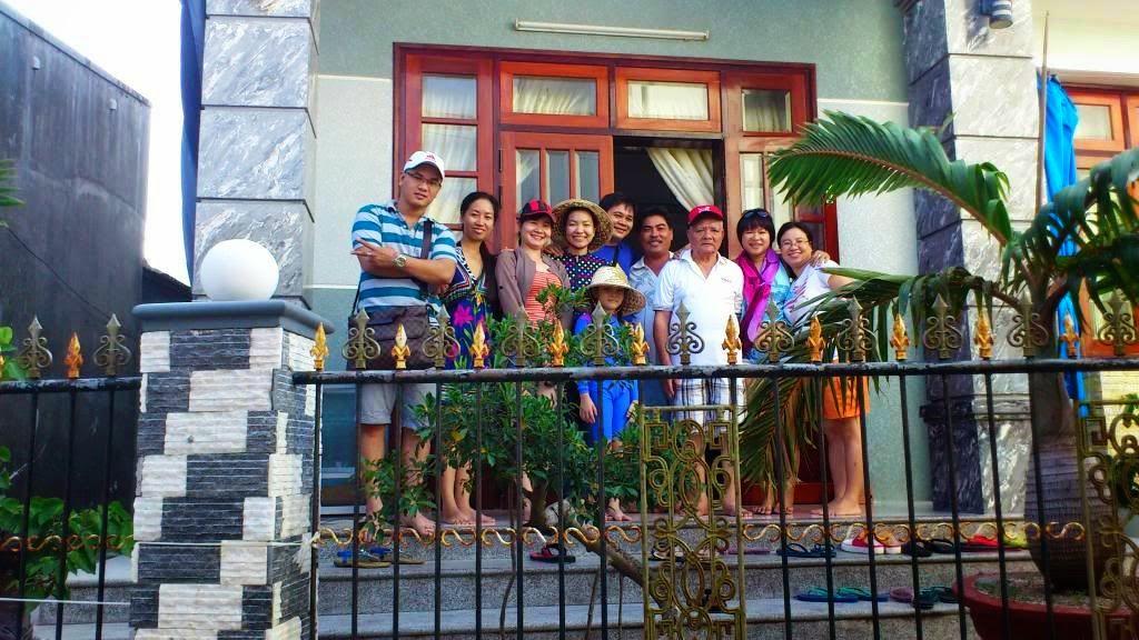 Nhà nghỉ ở đảo Bình Ba