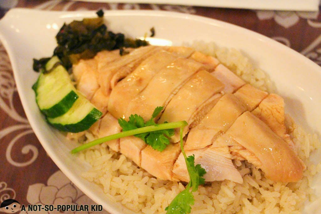 Signature Boiled Chicken Rice Bowl by Boon Tong Kee