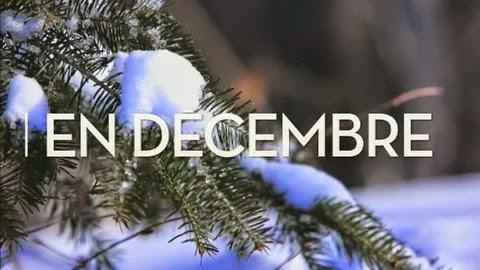 Le mois de décembre sous la neige