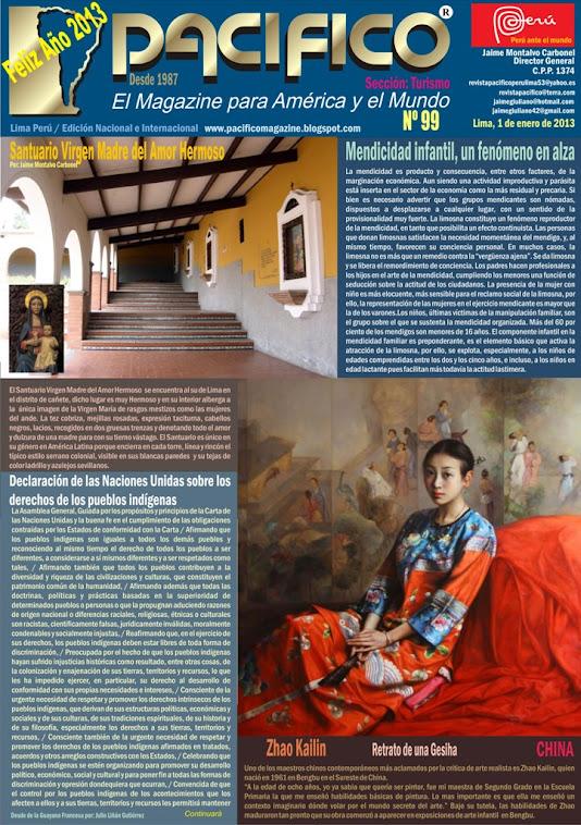 Revista Pacífico Nº 99 Turismo