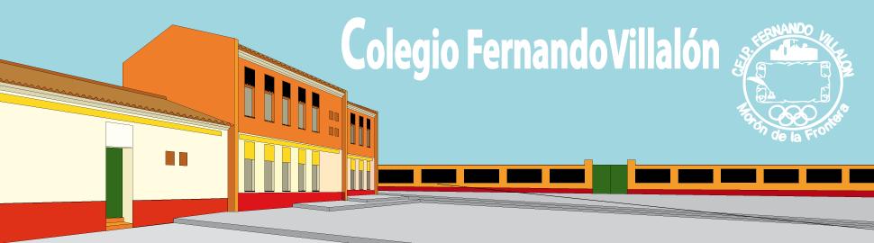 """<p align=""""center"""">*C.E.I.P. FERNANDO VILLALÓN*</p>"""
