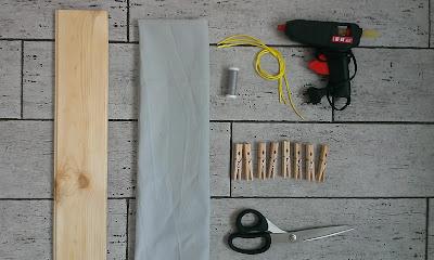 wieszak na przedpokój DIY