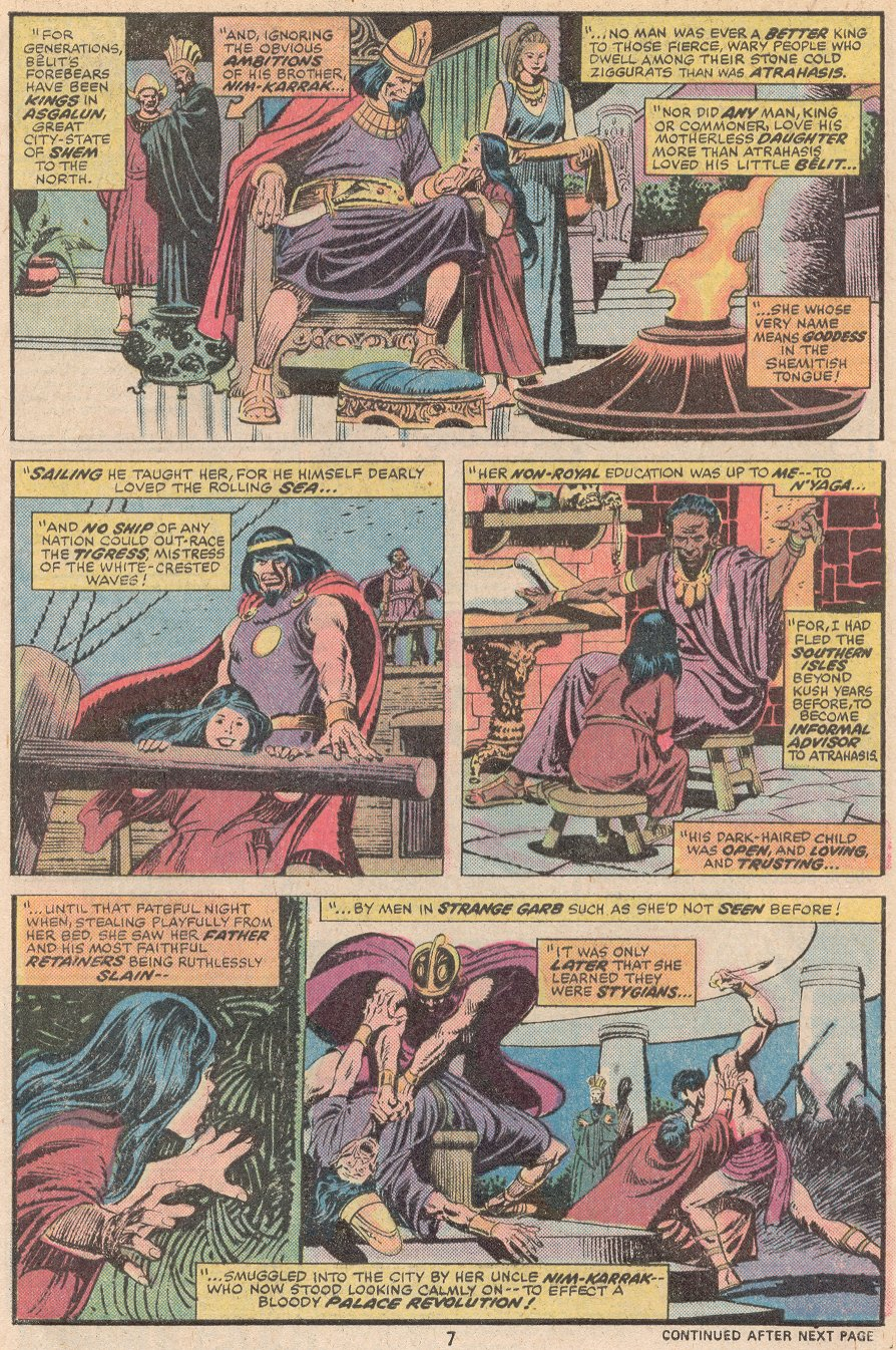Conan the Barbarian (1970) Issue #59 #71 - English 6