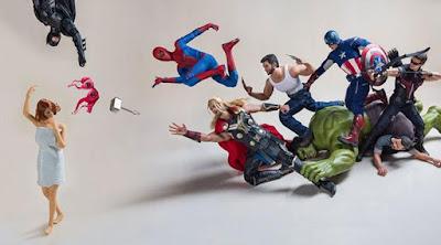[Foto] Inilah Aksi Gokil Para Super Hero - Bagian 2