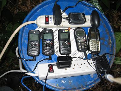 cargador de celulares casero