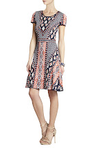 BCBG Jacquard Dress