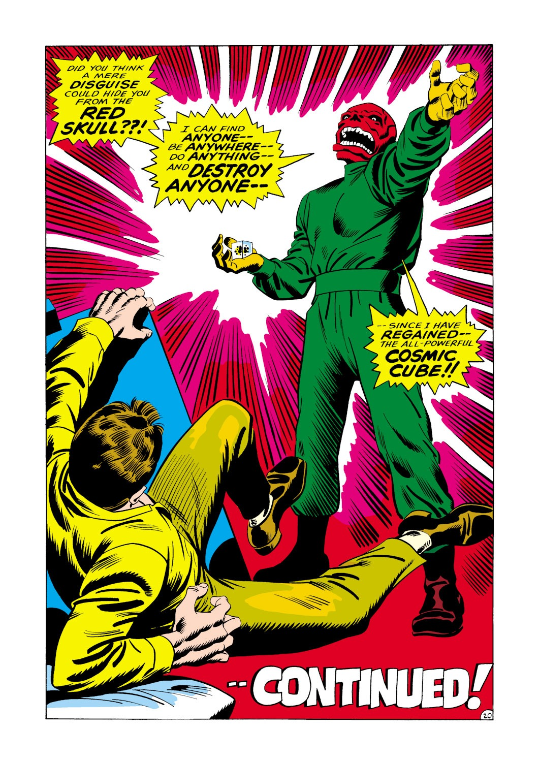 Captain America (1968) Issue #114 #28 - English 21