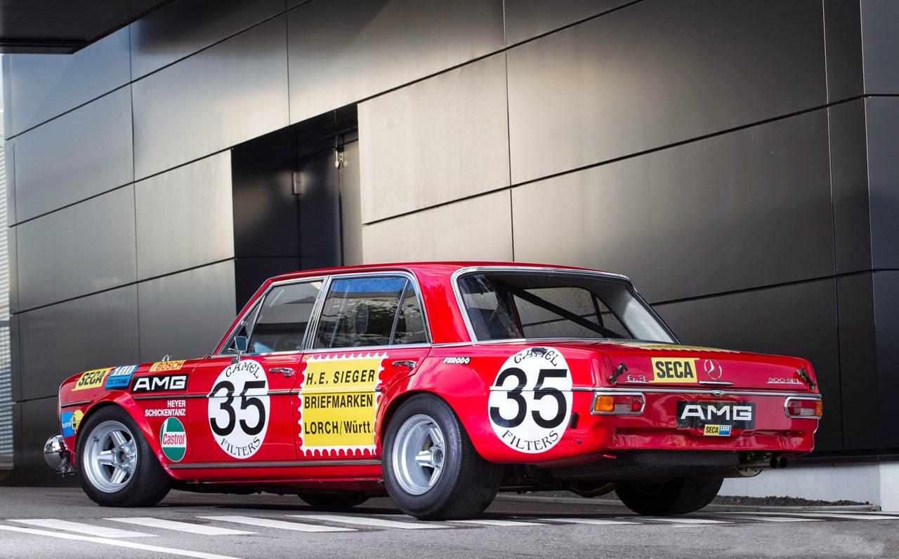 FAB WHEELS DIGEST (F.W.D.): 1971 Mercedes-Benz AMG 300SEL 6.3 Race ...