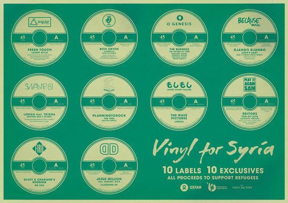Independent Label Market - Vinyl For Syria