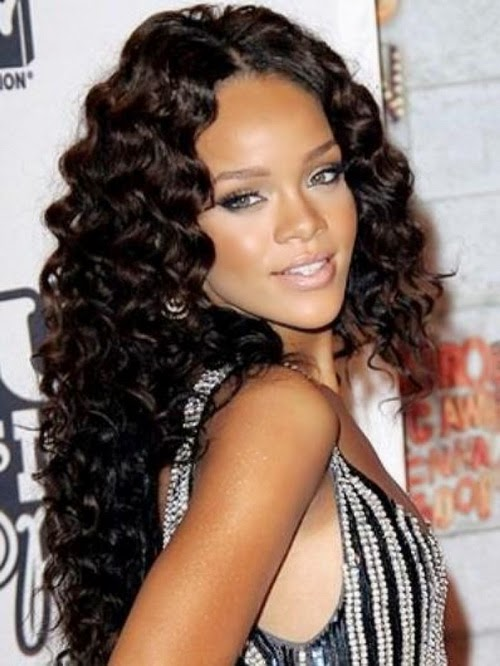 naturaly curly long hairstyles ideas