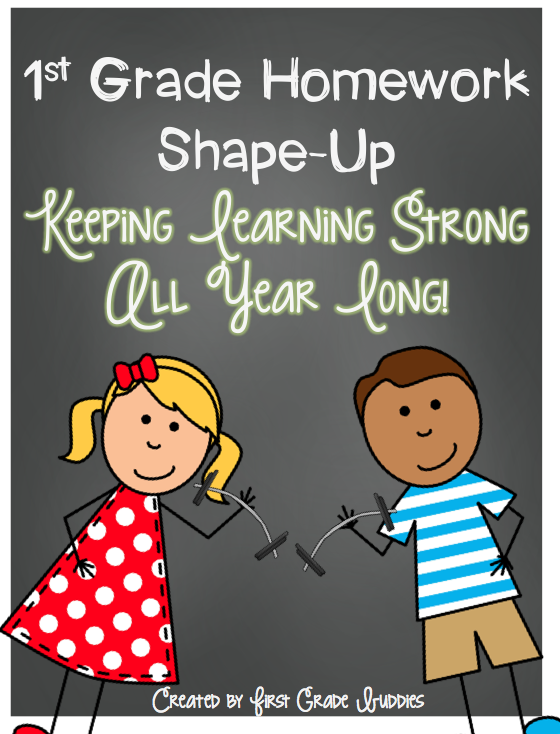http://www.teacherspayteachers.com/Product/First-Grade-Homework-Shape-Up-Weekly-CC-Aligned-Homework-for-Reading-and-Math-759305