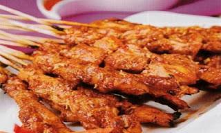Sate Ayam Khas Kalimantan Selatan