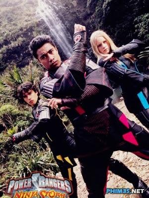 Siêu Nhân Cuồng Phong-Power Rangers Ninja Storm