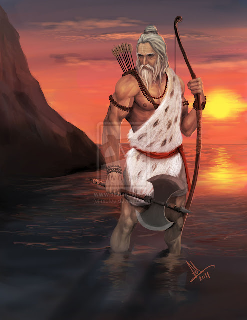 Parashurama the 6th avatar of lord vishnu
