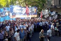 Nueva Marcha contra la ley Antiterrorista