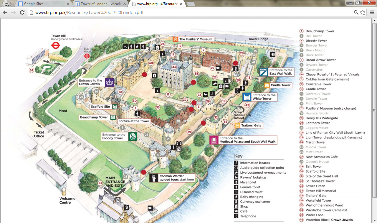 Directions you can click on the preview image to the right to - Tips For Visiting Tower Of London With Your Family