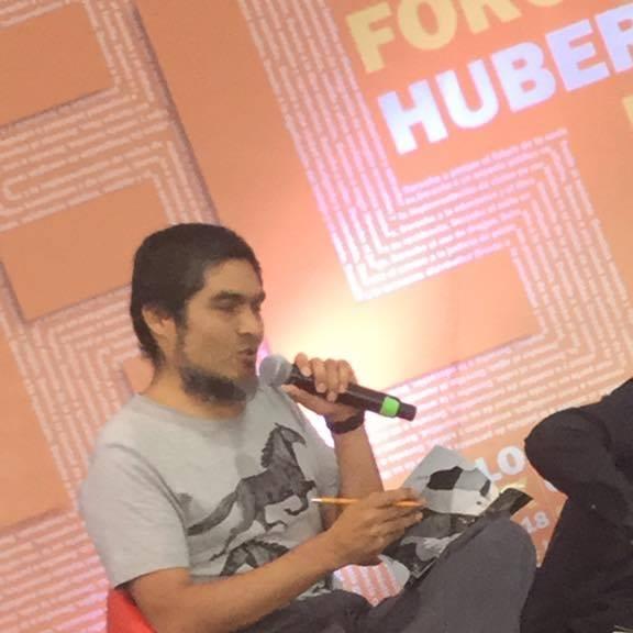 En la XVIII Feria Internacional del Libro del Zócalo CDMX, Foro Huberto Batiz