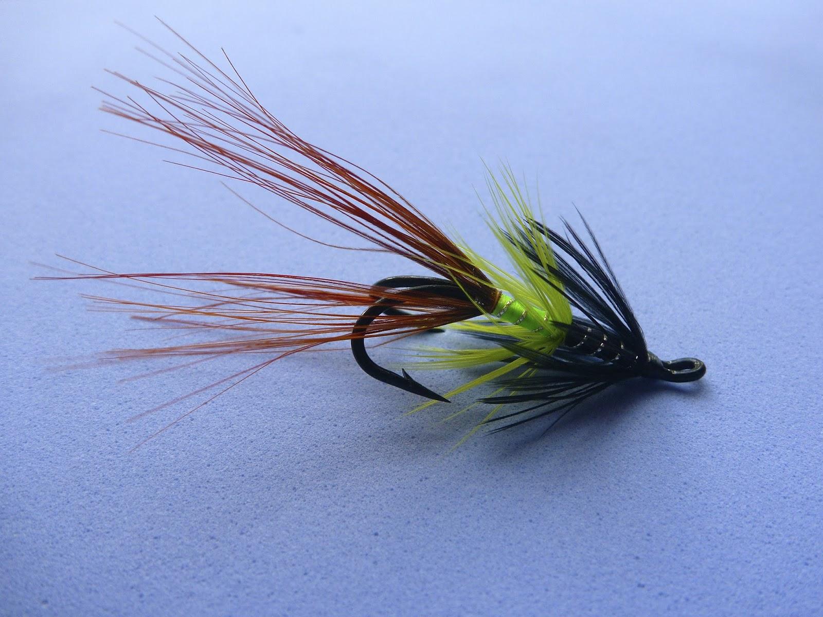 Atlantic salmon flies sugerman shrimp for Salon fly