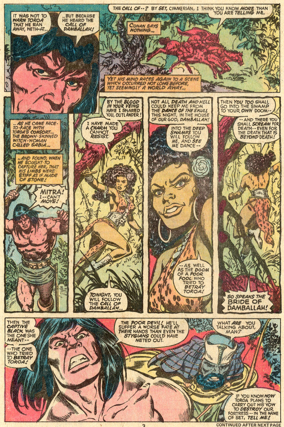 Conan the Barbarian (1970) Issue #83 #95 - English 4