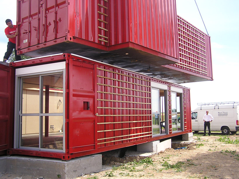 Shipping container homes patrick partouche maison for Maison container france
