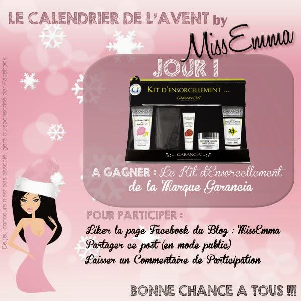 Calendrier de l'Avent by MissEmma - Jour 1