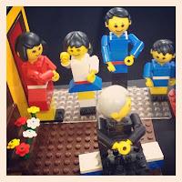 southern bricks lego show - maxifig family