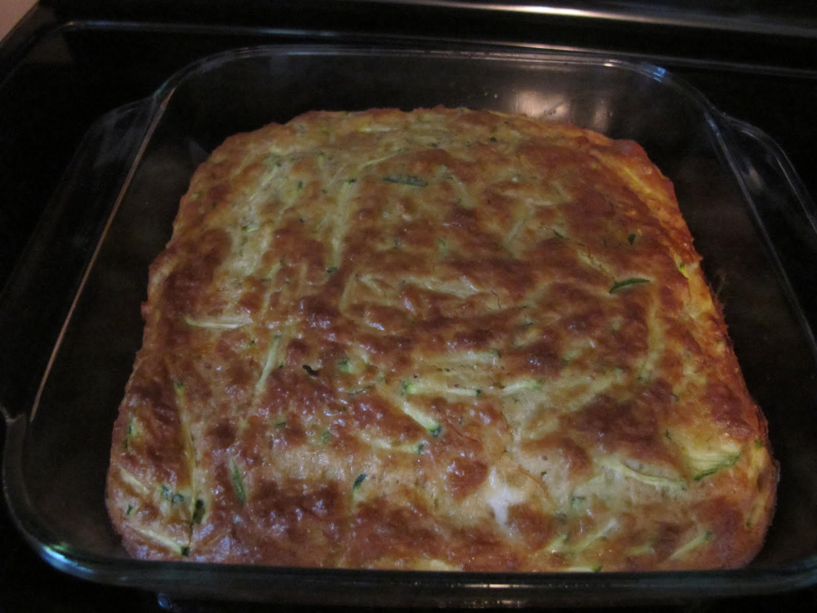 Enjoying Healthy Foods: Zucchini Breakfast Egg Casserole