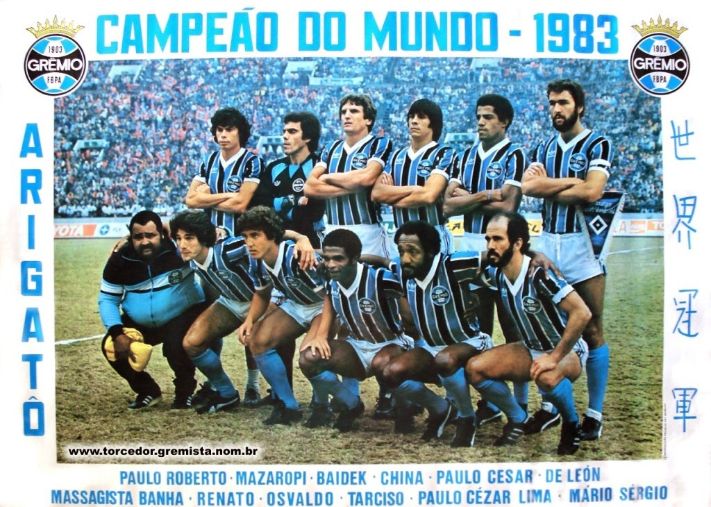 Grêmio - Mundial 1983