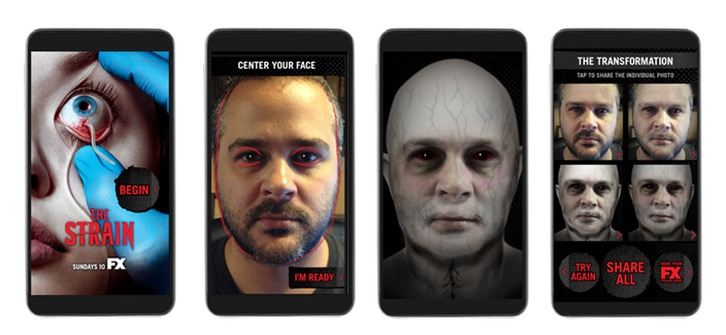 The Strain - FX Unleashes Transformation App