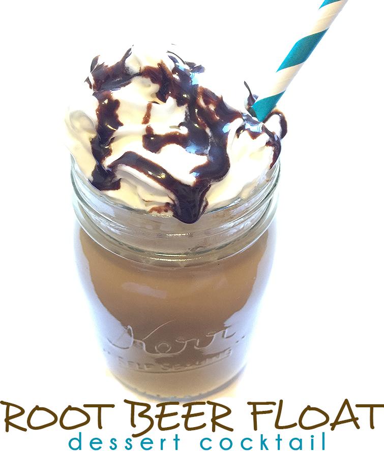root beer float dessert cocktail recipe