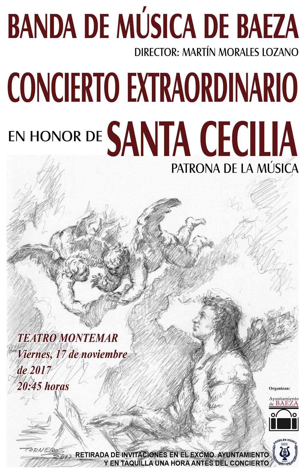 CONCIERTO EN HONOR DE SANTA CECILIA 2017 (Patrona de la Música)