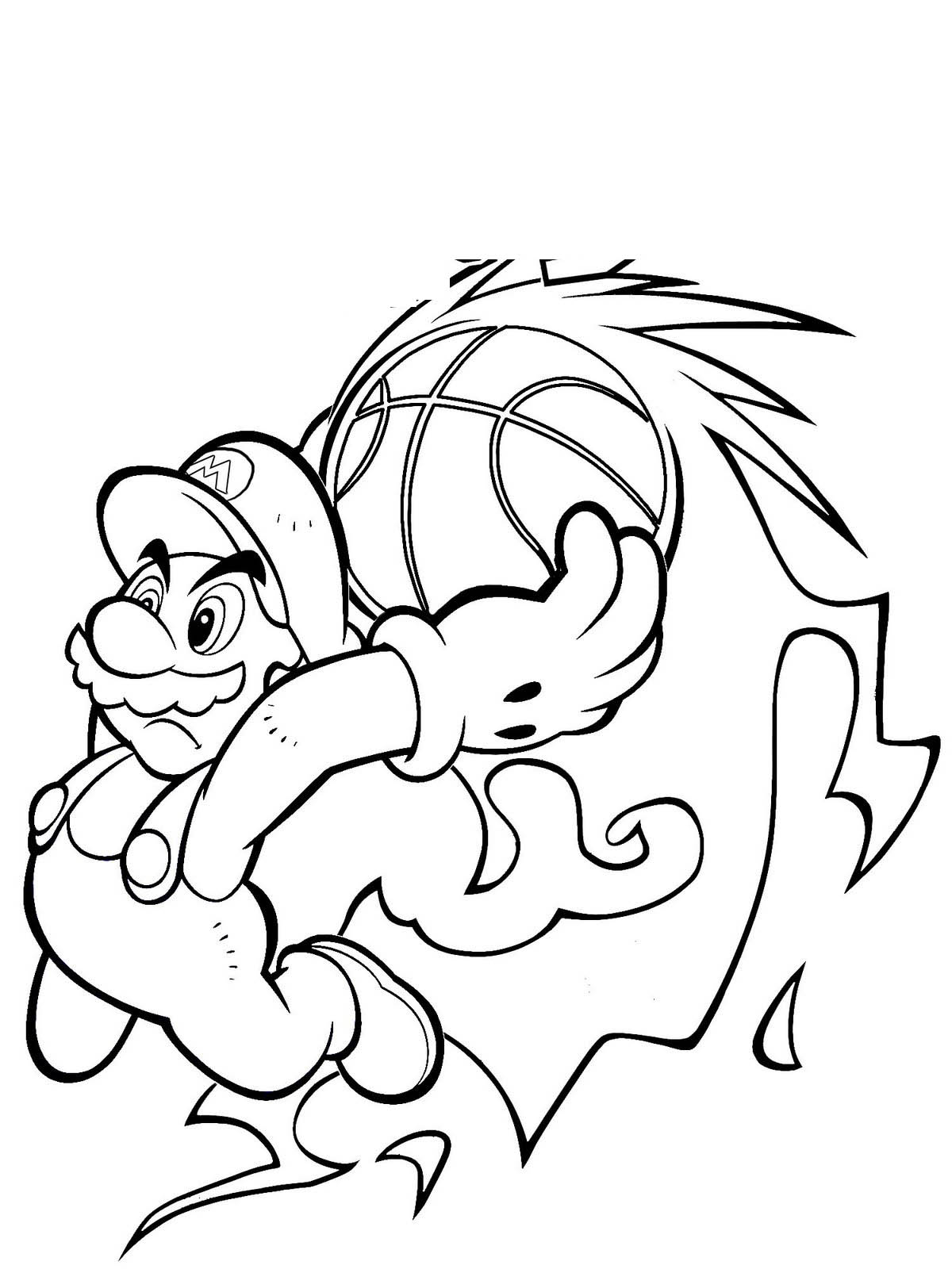 Super Mario Coloring Pages ~ Free Printable Coloring Pages - Cool ...