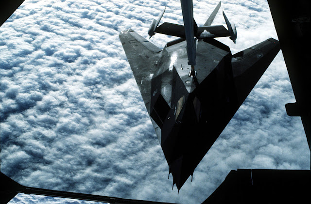 F-117 Nighthawk air-to-air refuelling