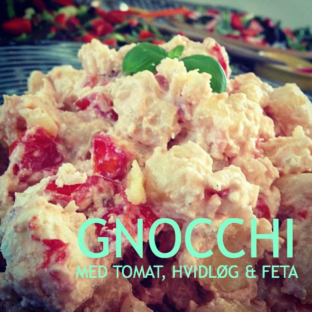 Gnocchietti med tomat, hvidløg og feta - Mit livs kogebog
