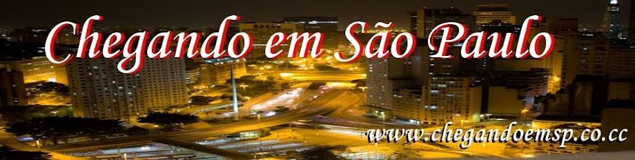 Chegando em São Paulo