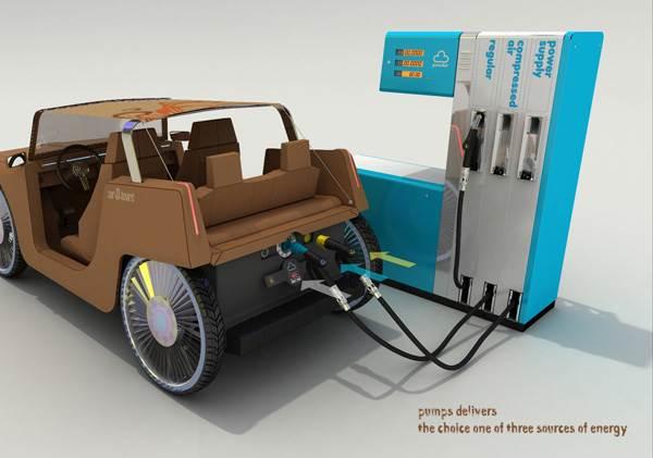 kereta dijana kuasa hybrid