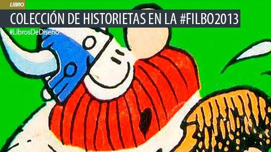 Libros. Colección de Historietas clásicas en la #FILBo2013
