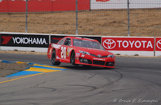 Road course auto racing, NASCAR, Sonoma - vision of speed