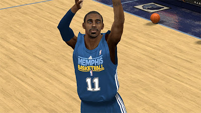 NBA 2K13 Mike Conley Face NBA2K Update