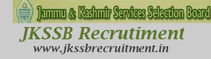JKSSB Recruitment 2018 | Notification | Syllabus | Online Application