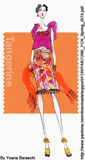 MANDARINA Fashion Color Report SS2015