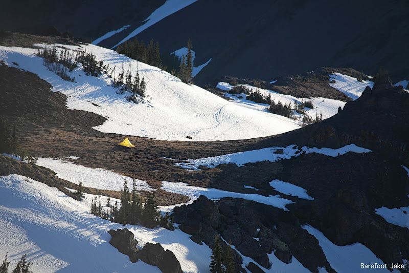 Tyler Peak camp