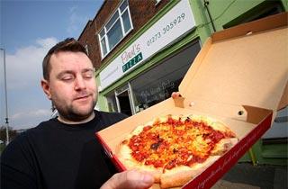 Saltdean Sizzler Pizza Terpedas Di Dunia