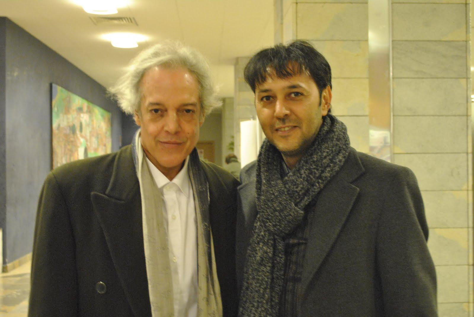 Con Marcos Vinicius al Festival Pub Italia